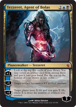 Tezzeret, Agent of Bolas | Magic: The Gathering Card