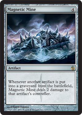 Magnetic Mine | Magic: The Gathering Card