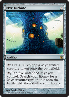Myr Turbine | Magic: The Gathering Card
