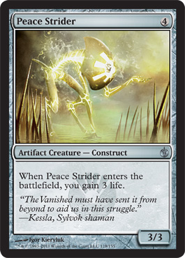 Peace Strider | Magic: The Gathering Card