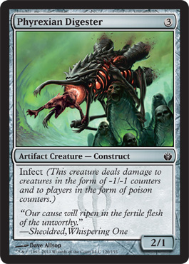 Phyrexian Digester | Magic: The Gathering Card