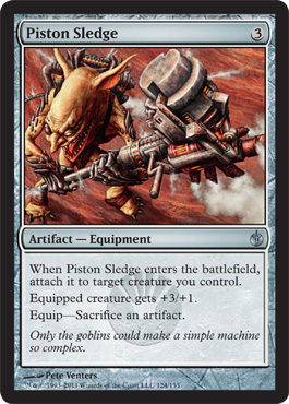 Piston Sledge | Magic: The Gathering Card