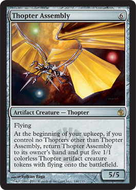 Thopter Assembly | Magic: The Gathering Card