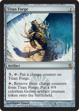 Titan Forge | Magic: The Gathering Card
