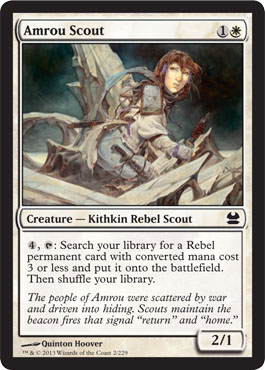 Amrou Scout | Magic: The Gathering Card