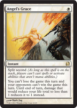 Angel's Grace | Magic: The Gathering Card