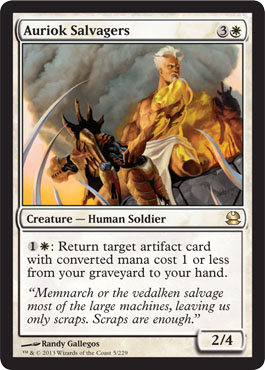 Auriok Salvagers | Magic: The Gathering Card