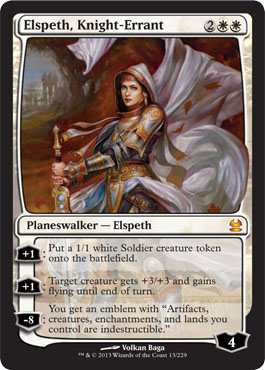 Elspeth, Knight-Errant in Modern Masters