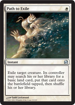 Path to Exile | Magic: The Gathering Card