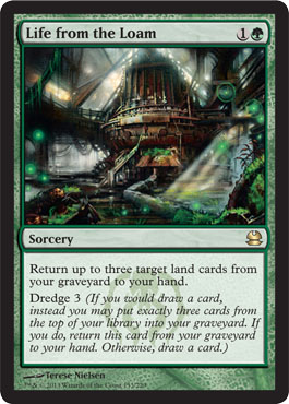Life from the Loam | Magic: The Gathering Card