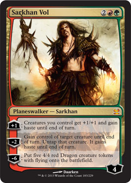 Sarkhan Vol in Modern Masters