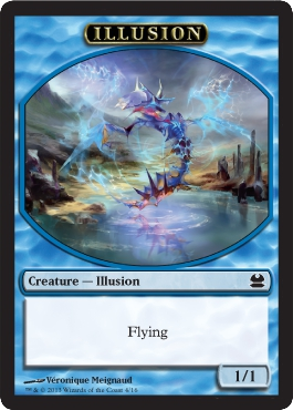 Illusion Token in Modern Masters
