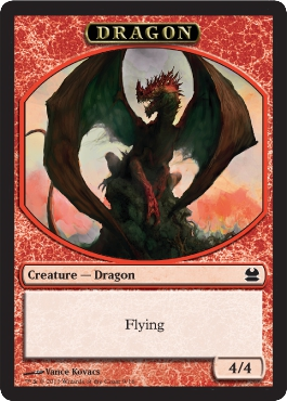 Dragon Token in Modern Masters