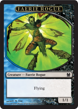 Faerie Rogue Token in Modern Masters