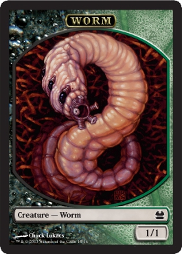 Worm Token in Modern Masters
