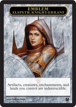 Emblem - Elspeth, Knight-Errant in Modern Masters