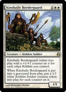 Kinsbaile Borderguard | Magic: The Gathering Card