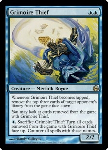 Grimoire Thief | Magic: The Gathering Card
