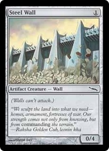 Steel Wall | Magic: The Gathering Card