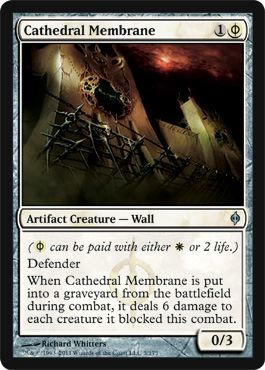 Cathedral Membrane | Magic: The Gathering Card
