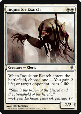 Inquisitor Exarch | Magic: The Gathering Card
