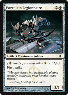 Porcelain Legionnaire | Magic: The Gathering Card