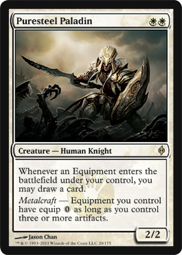 Puresteel Paladin | Magic: The Gathering Card