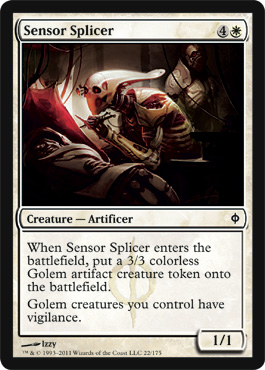 Sensor Splicer | Magic: The Gathering Card