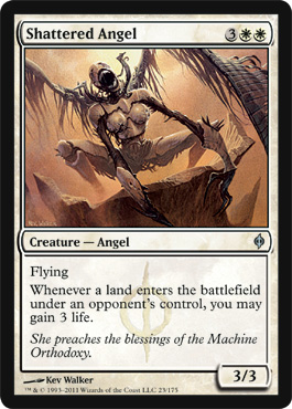 Shattered Angel | Magic: The Gathering Card