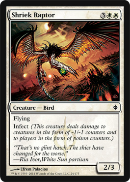Shriek Raptor | Magic: The Gathering Card