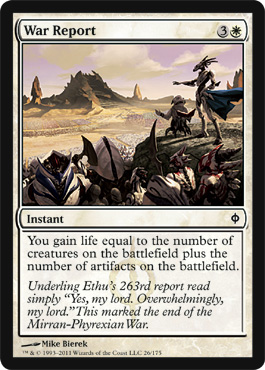 War Report | Magic: The Gathering Card