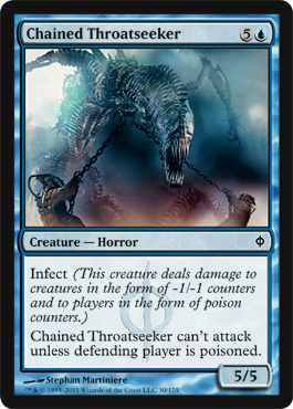 Chained Throatseeker | Magic: The Gathering Card
