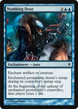 Numbing Dose | Magic: The Gathering Card