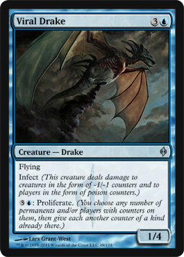 Viral Drake | Magic: The Gathering Card