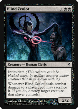 Blind Zealot | Magic: The Gathering Card