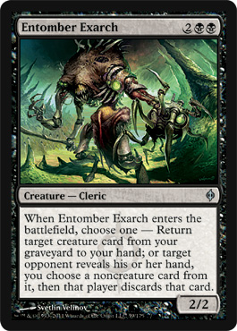 Entomber Exarch | Magic: The Gathering Card