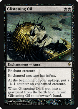 Glistening Oil | Magic: The Gathering Card