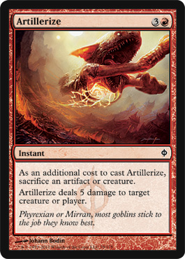 Artillerize | Magic: The Gathering Card