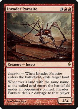 Invader Parasite | Magic: The Gathering Card
