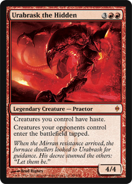 Urabrask the Hidden | Magic: The Gathering Card