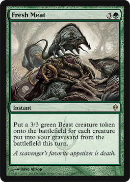 Fresh Meat | Magic: The Gathering Card