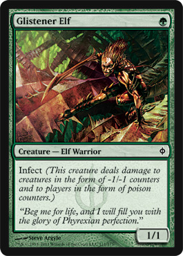 Glistener Elf | Magic: The Gathering Card