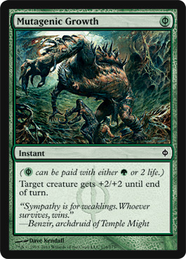 Mutagenic Growth | Magic: The Gathering Card