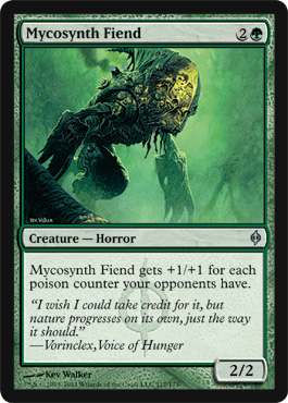 Mycosynth Fiend | Magic: The Gathering Card
