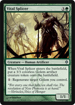 Vital Splicer | Magic: The Gathering Card