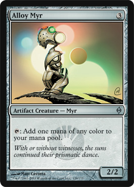 Alloy Myr | Magic: The Gathering Card