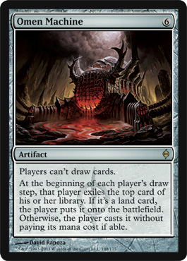 Omen Machine | Magic: The Gathering Card