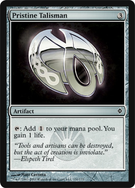 Pristine Talisman | Magic: The Gathering Card