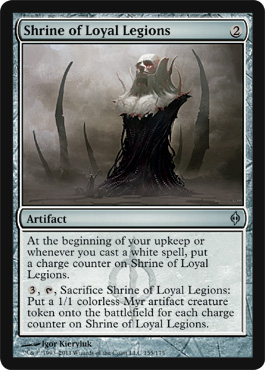 Shrine of Loyal Legions | Magic: The Gathering Card