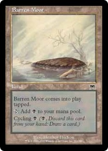 Barren Moor | Magic: The Gathering Card